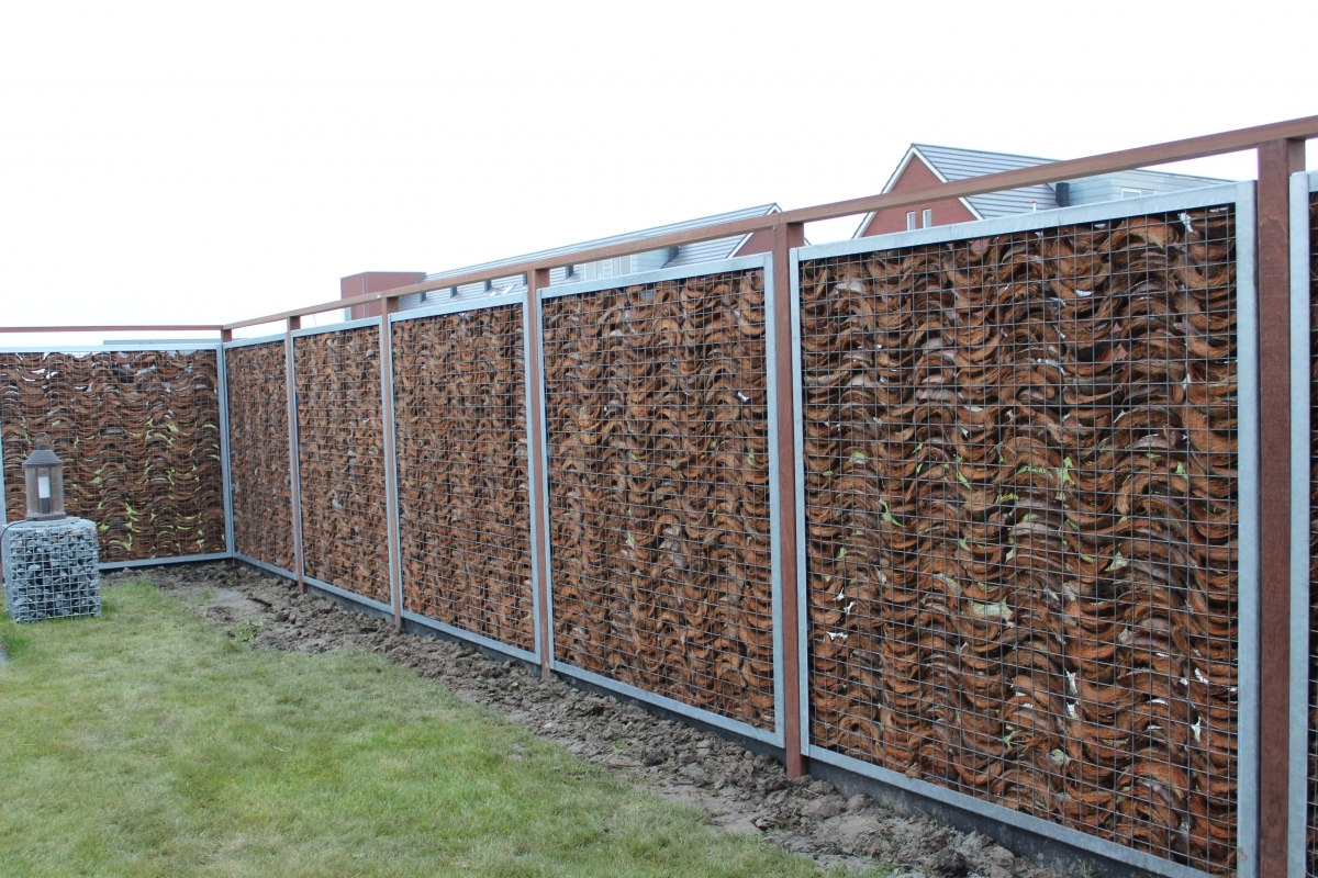 Gabions With Coconut Husks Kokosystems International Bv
